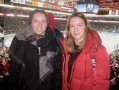 На хоккее с сестрами Глинскими