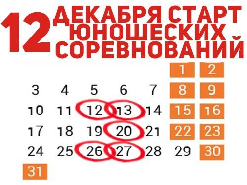 Размещены юношеские календари
