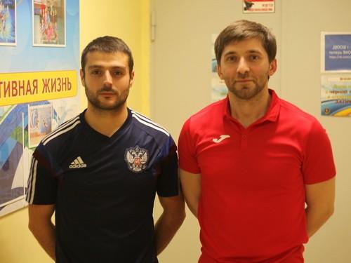 Абу Халимов и Нарек Мурадян