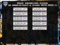 Сроки Кубков декабрь - март